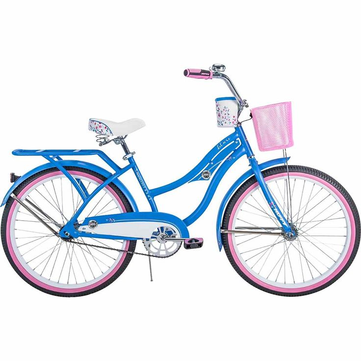 Huffy Girls' Deluxe 24 in Cruiser Bicycle Cruiser