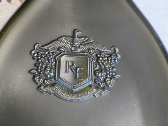 Roederer Champagne Bottle Recycled into an by BobsBarrelArt