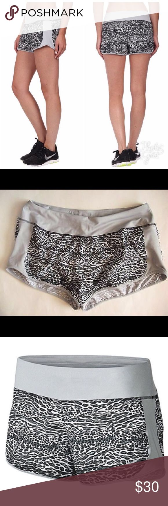 💎NWT💎 Nike Leopard Shorts Size S Accepting offers. New with tag. No low ballers or trades. Gray and black. Cute with nike sneakers and tank. Retail $40 Nike Shorts