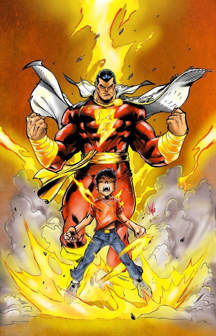 Shazam Billy Batson Aka Captain Marvel Dc Universe Pinterest
