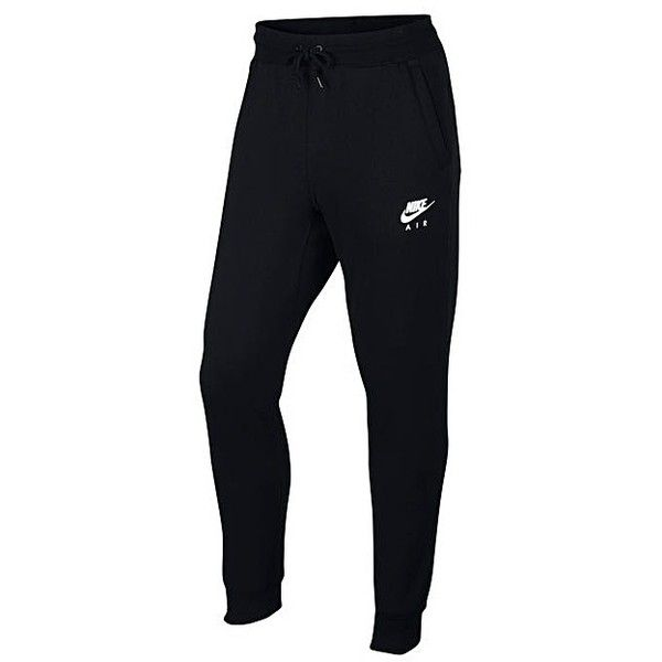 Nike Sportswear Jogging Bottoms ($54) ❤ liked on Polyvore featuring activewear, activewear pants, nike activewear pants, nike sportswear, logo sportswear, nike and nike activewear