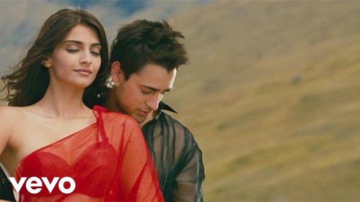 I Hate Luv Storys - Sadka Lyric   Sonam Kapoor, Imran Khan - YouTube