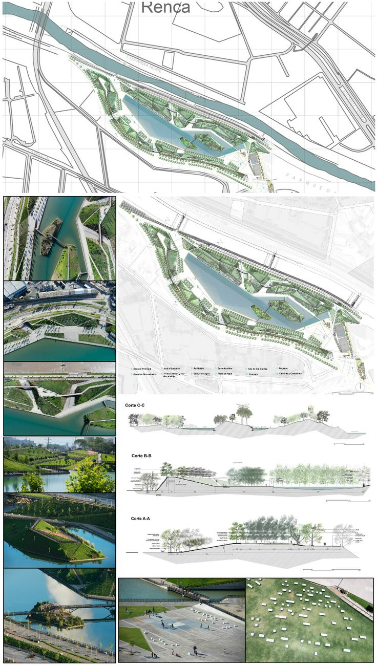 2016 Región Metropolitana, Chile / Padre Renato Poblete River Park / Boza…