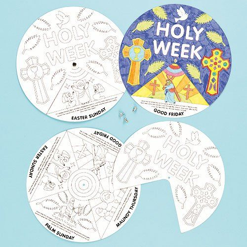 It's just a graphic of Playful Holy Week Activities Printable