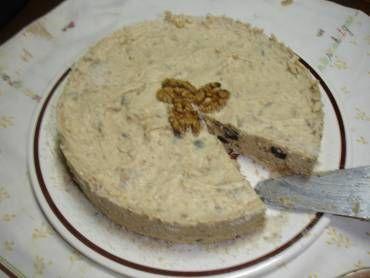 Torta Celebrity - nozes castanhas e ameixas preta