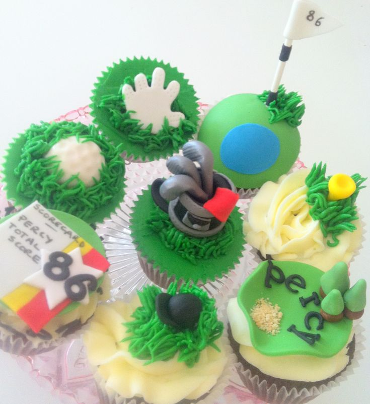 17 Best images about Golf cupcakes on Pinterest Golf ...