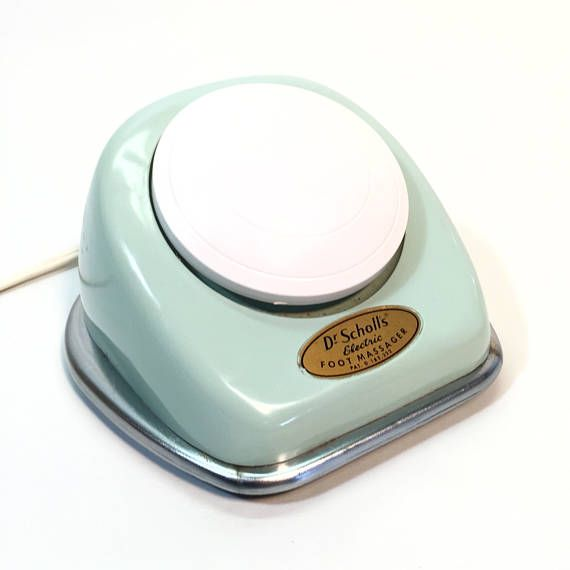 1960's Turquoise Massager Dr Scholls Electric Vibrating