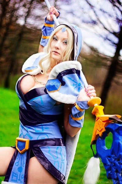 ~Crystal Maiden ~Dota 2 ~Cosplay ~By MilliganVick | Dota 2 ...