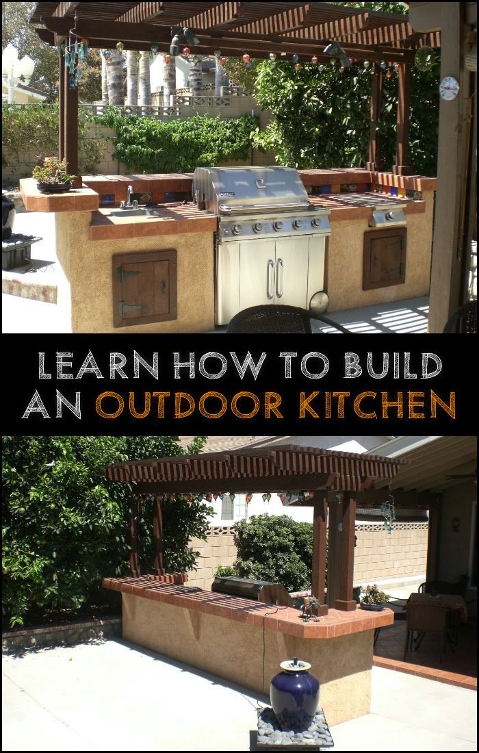 Here's a great project for people who spend a lot of time entertaining and cooking outdoors!