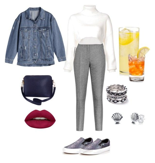"""""""Untitled #172"""" by ezerys on Polyvore featuring Vans, Reiss, Alexandre Vauthier, Humble Chic, Huda Beauty, WithChic and Disney"""