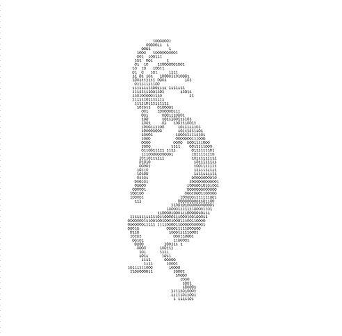 ASCII Art Kokopelli