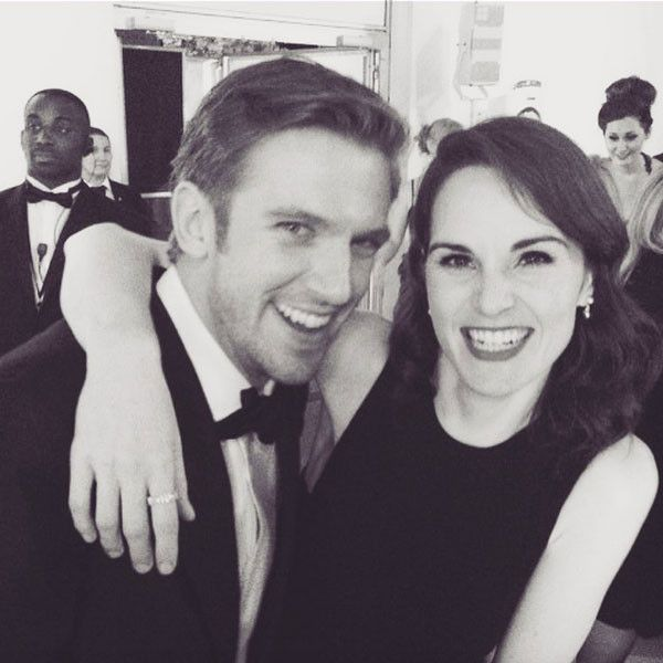 Michelle Dockery Instagram - Mary and Matthew reunited