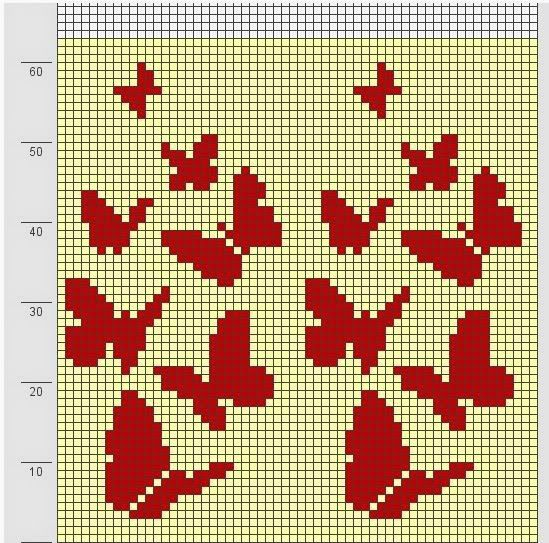 Butterfly - Free Cross Stitch Pattern  Theses are several beautiful and colorful patterns I have found on the web. I will add more as I find...