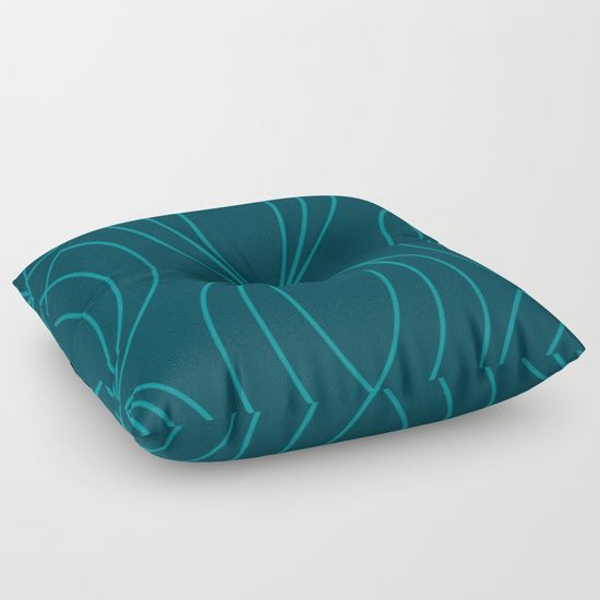 #floorpillow #graphics #legionblue #linesart #blue #grapicdesign  #geometric #pattern #designerpillow #piaschneider #society6 #homedecor. Legion Blue and larkspur Graphic Pattern Design. © 7-2017  by Pia Schneider | atelier COLOUR-VISION