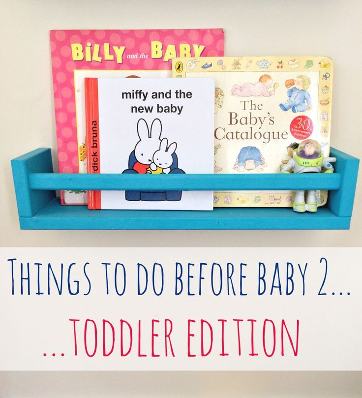 List of things to do with your toddler before a second baby arrives - love #9