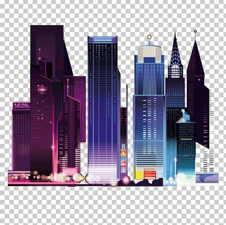 City Landscape Architecture Of Night View Png Big City Building City City Landscape City Night Sky En 2020 Architecture Decoration