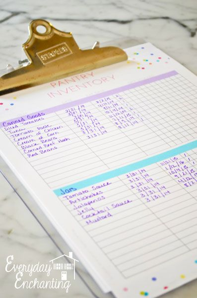 5 Pantry Organizing Mistakes I Didn't Realize I Was Making + menu planner and pantry inventory free printable