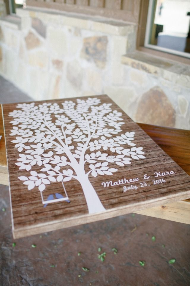 guestbook ideas painted signs outdoor weddings oklahoma hunters wedding planning children wedding stuff goals