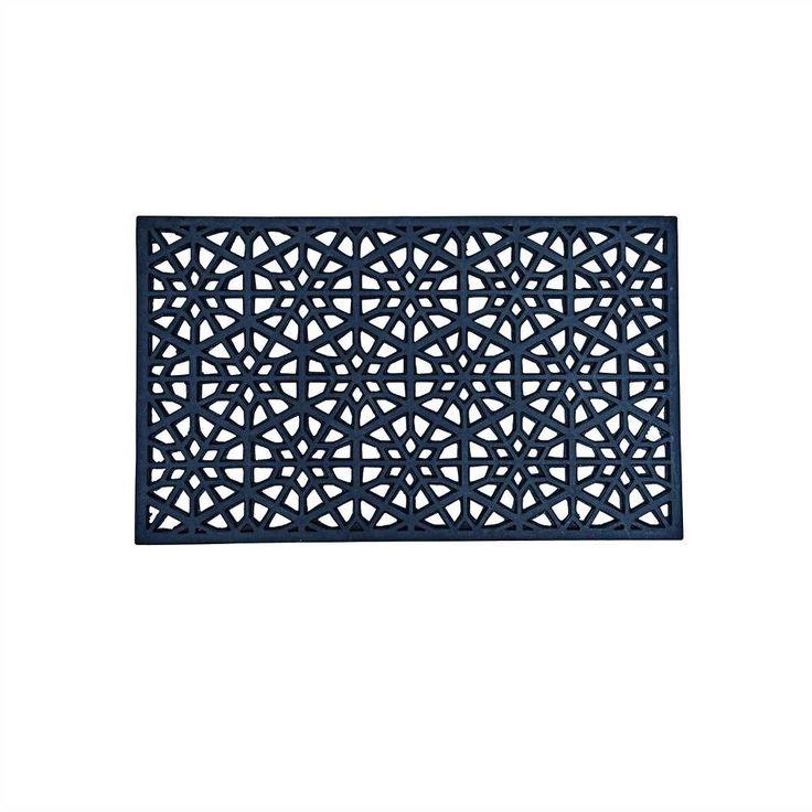 Stoere mat van Housedoctor. Zo worden voeten vegen voordat je naar binnengaat leuk en ook nog eens in stijl. De mat is van 100% rubber en is ook nog verkrijgbaa