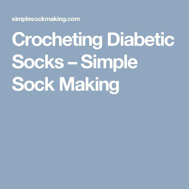 Crocheting Diabetic Socks – Simple Sock Making