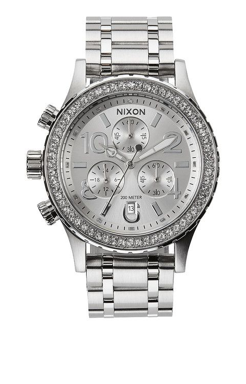 The Women's 38-20 Chrono by Nixon has caught my horological eye!  #NixonWatches #Watches #Horology