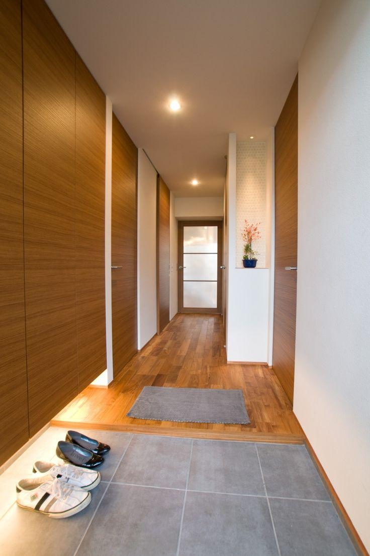 玄関(心地良いカフェのような空間(リノベーション))- 玄関事例|SUVACO(スバコ)