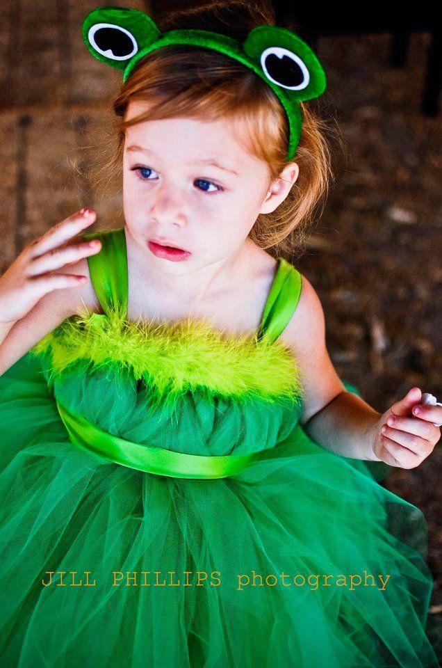 Kleine Frosch-Lady!