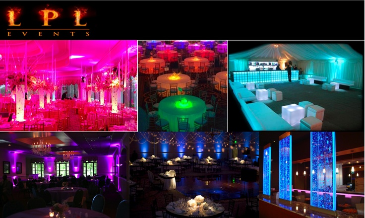 Lighting turns an evening function from simple to extraordinary. The use of lighting is brilliant idea for both Corporate & Private events.