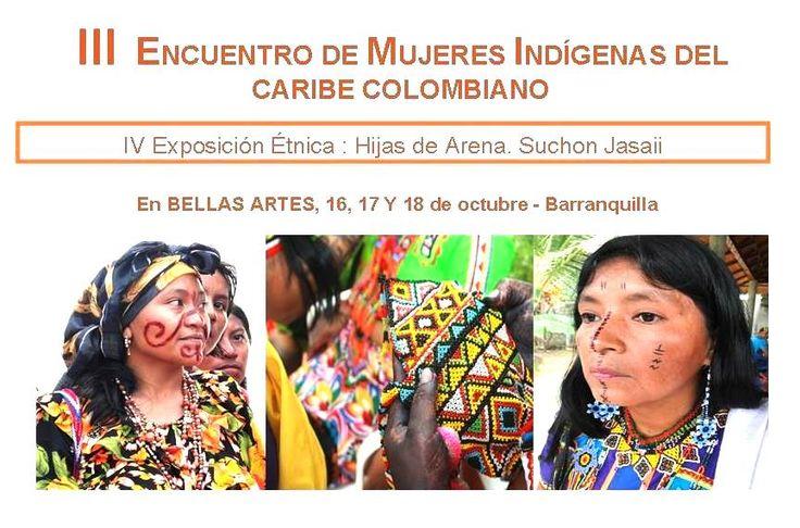 La noche del arco iris: Tercer Encuentro de Mujeres indígenas del Caribe Colombiano se realiza en Barranquilla