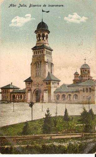 Alba Iulia - Biserica de Incoronare - 1925