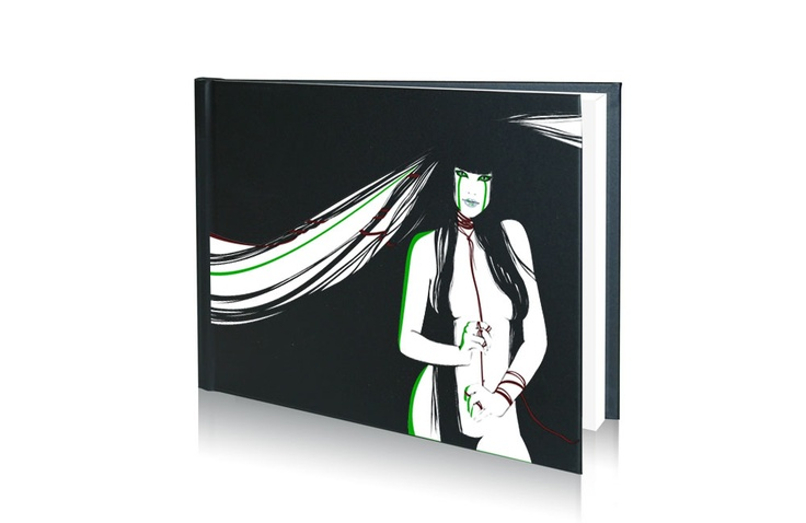 A4-liggende-Kull-X-book-girl  trykket med cpm transferpapir http://www.themagictouch.no