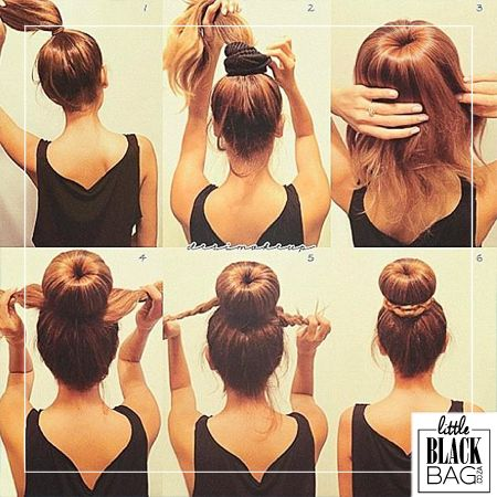 "The ""perfect bun"" may seem elusive but with this simple solution, it will cease to elude you. #lbbcoza"