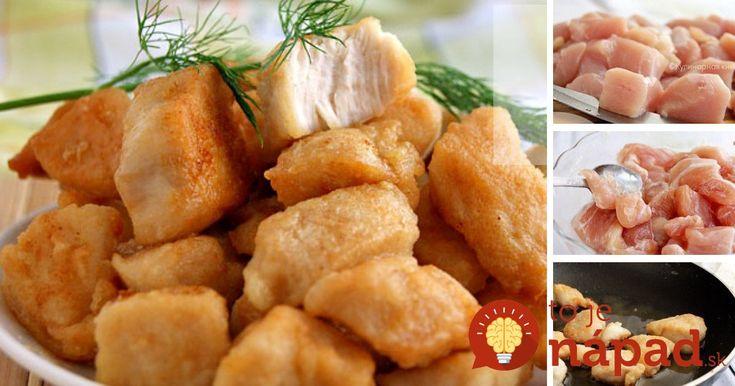 Šťavnaté a úžasne chutné kuracie kúsky. A na tento výsledok nepotrebujete nijaké exotické suroviny či prísady, postačia vám celkom obyčajné ingrediencie, ktoré určite nájdete aj vo svojej kuchyni.