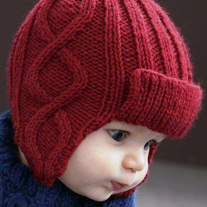 bebek örgü şapka, bere, kapşon örnekleri (46)