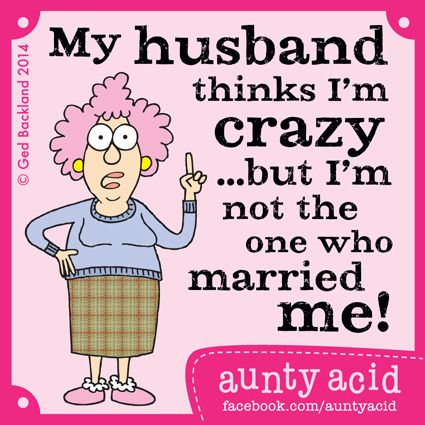 Aunty Acid on Marriage - Deck of Cards
