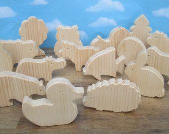 Juguete de madera dinosaurios  juguetes de madera  por WoodenYaPlay