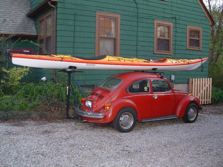 You can always fit a sea kayak on any car!