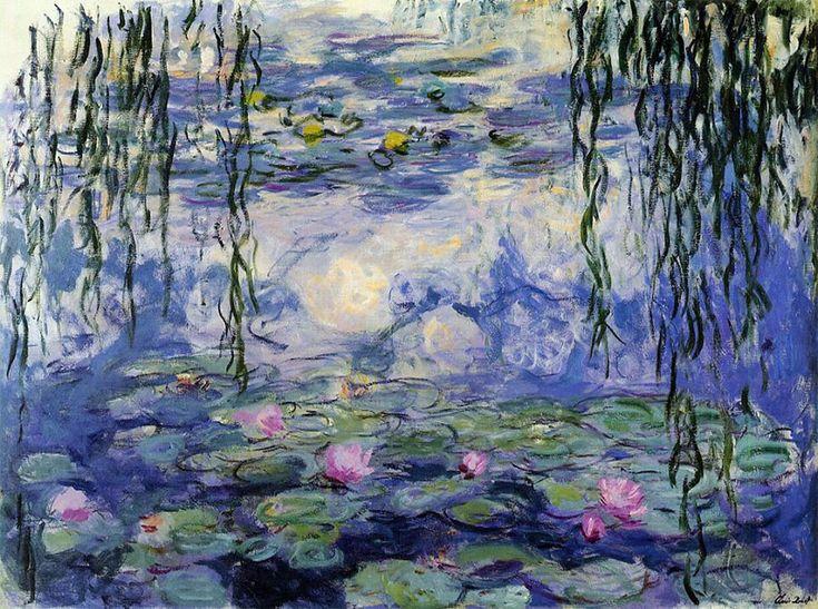 """Los nenúfares"", Claude Monet. Anys 1920-1926."