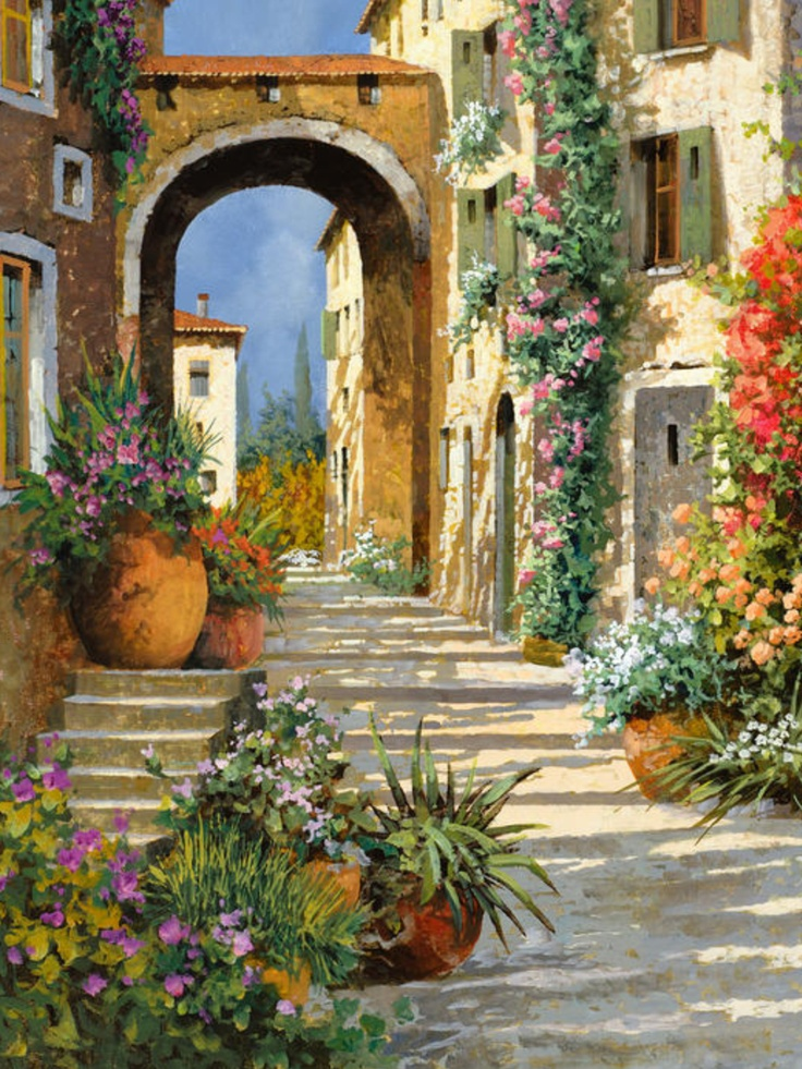 GUIDO BORELLI  Artist Guido Borelli da Caluso was born in 1952, in Caluso, Italy at the foothills of the Italian Alps.