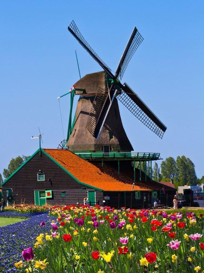 Recorre las calles Holandesas #vacaciones