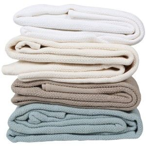 Cotton Cellular Throw Blankets