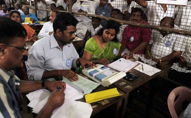 """Election Commission on Sunday night cancelled the April 12 bypoll to the R K Nagar Assembly constituency in Tamil Nadu, saying the electoral process has been """"seriously vitiated"""" by parties through use of money power."""