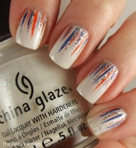 China Glaze Waterfall Manicure