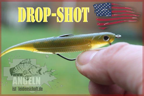 Alles über das Angeln mit Drop Shot Montagen wie der Knoten gemacht wird, welche Haken und was für ein Softbait verwendet werden kann. Die Finnesangelei mit Drop-Shot ist eine tolle sache und führt auch in schweren Situationen zum Fisch.