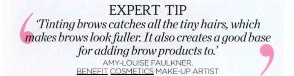 My first Brow Make up tip to be featured in a magazine! Share the Brow love with all you meet!