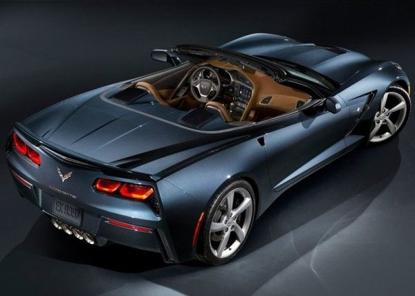2014 Chevrolet Corvette C7 Stingray Convertible coupe