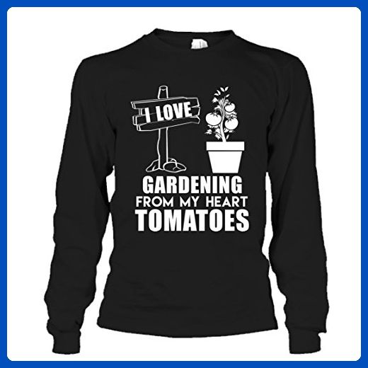 Gardening T-Shirt Design - Gardening Tomatoes Tee Shirt For You And Family Long Sleeve (XXL,Black) - Relatives and family shirts (*Amazon Partner-Link)