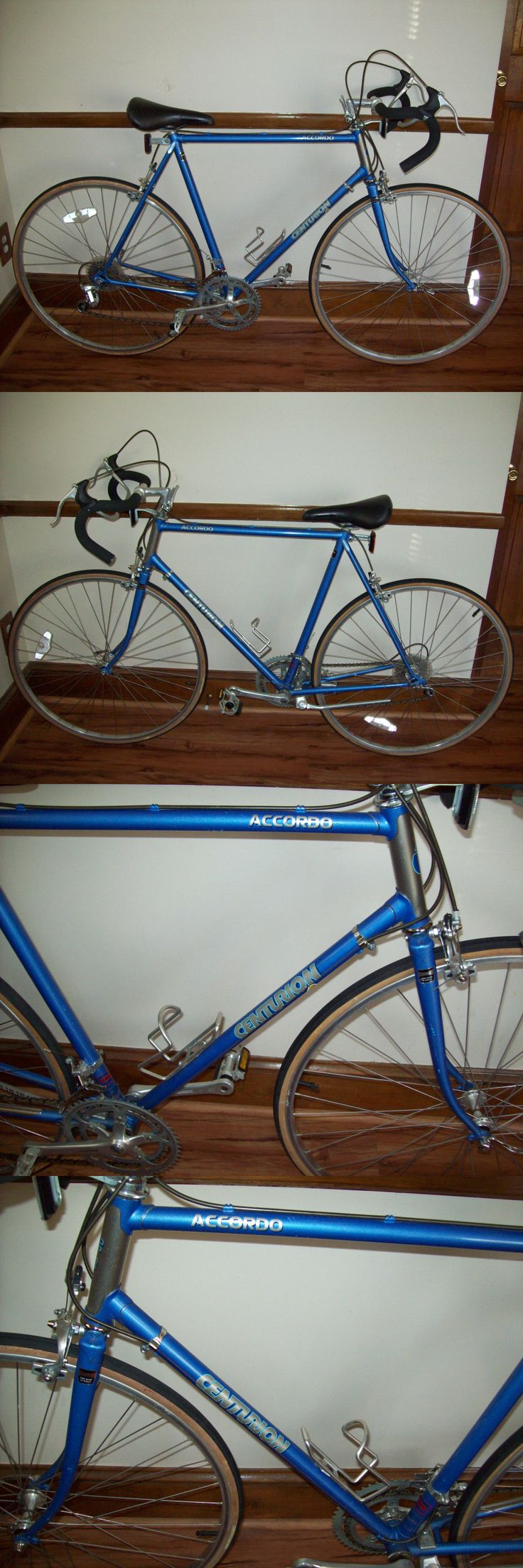 Vintage Bicycles 177858: Centurion Accordo Lugged Frame Road Bike Bicycle Made In Japan 58.42Cm BUY IT NOW ONLY: $199.99