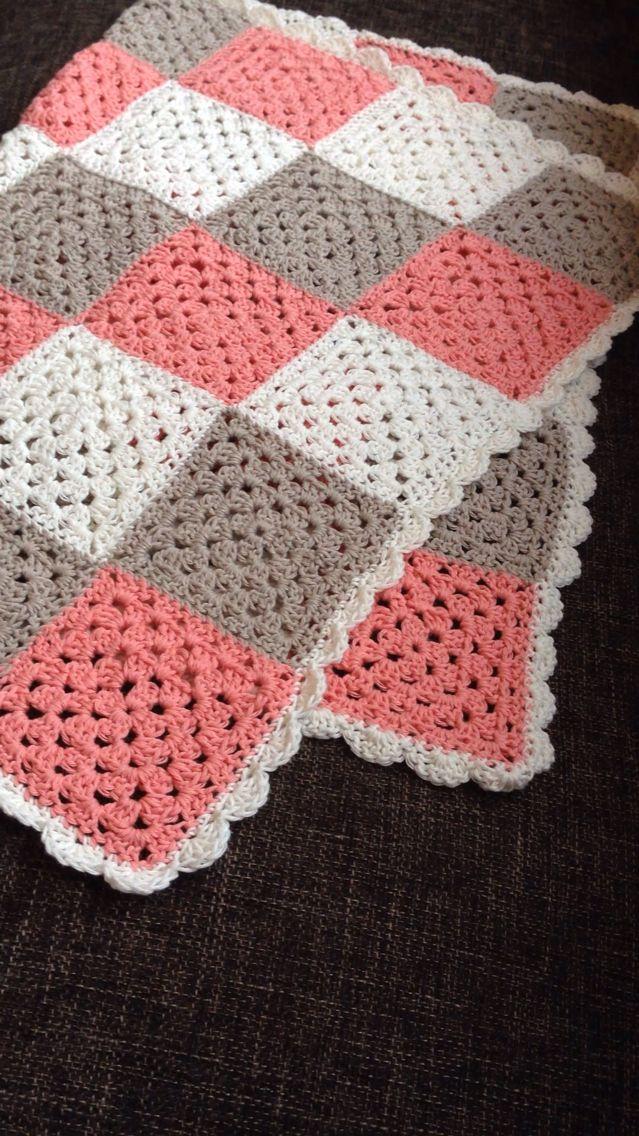 Babyteppe / baby blanket #hekle #crochet