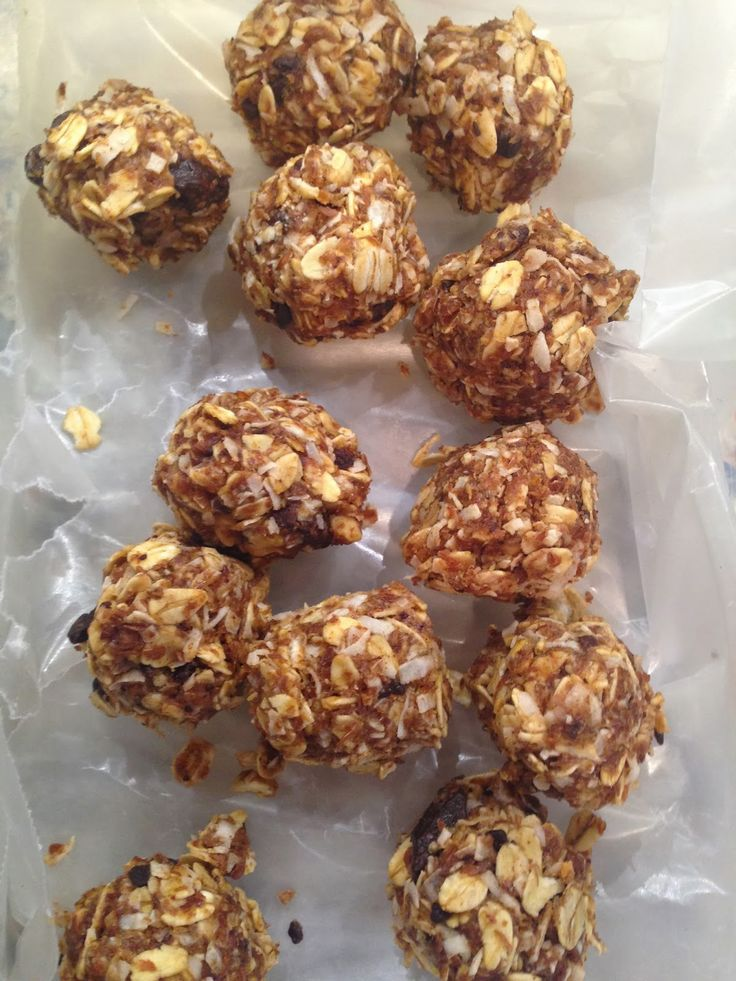 First things first….     My friend Seana discoverd these awesome oatmeal energy bites on the Pinterest.  Of course this resulted in a b...